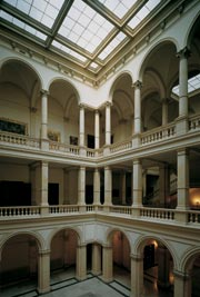 The atrium of the Academy Palace