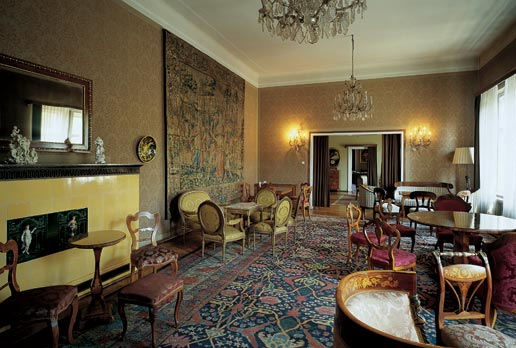 Reception rooms in the palace of the Croatian Academy